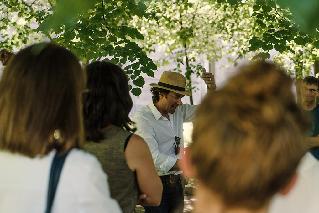 «Einblicke in den Hortus Conclusus», Remo Albert Alig, @ Michelle Ettlin